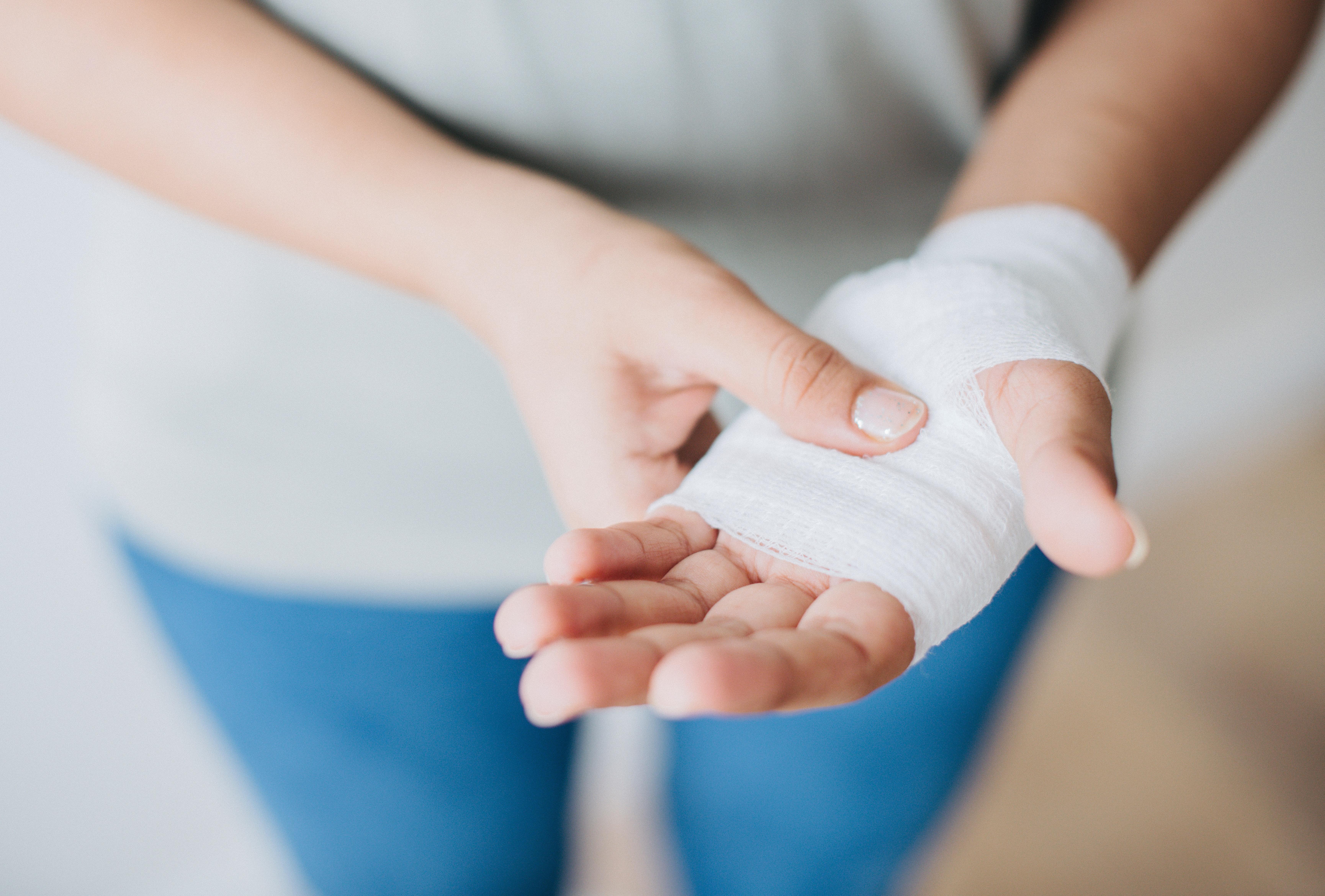 Bandage On Wrist