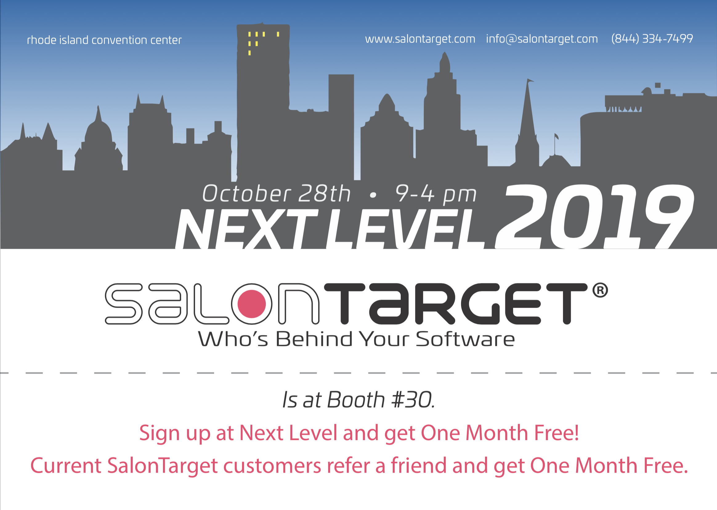 Visit SalonTarget At Next Level 2019
